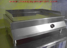 GAS GRIDDLE Stainles steel