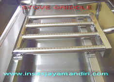 Stove Griddle use Stainles Steel